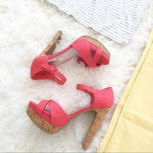 Shoes - Adorable Platform Cork Sandals